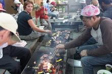 八杉千年の森イベント「本格派・炭焼き体験・窯だし 木炭アート」開催(その3)_e0061225_13555659.jpg