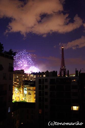 パリ祭の夜の花火ディナー_c0024345_2120258.jpg