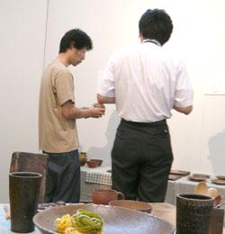 BizenCAFE 搬入〜初日風景_a0017350_0292554.jpg