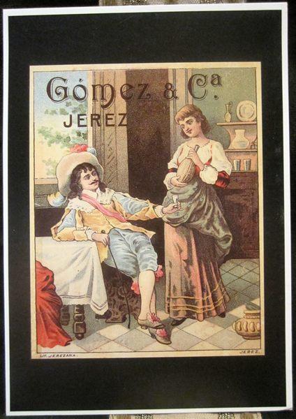シェリー酒広告ポスターのポストカード14種 _f0112550_735875.jpg