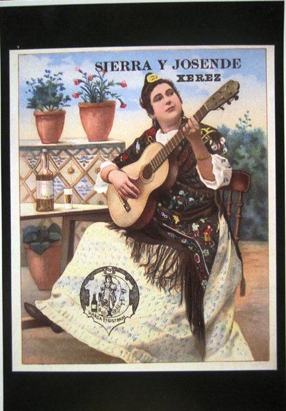 シェリー酒広告ポスターのポストカード14種 _f0112550_764068.jpg