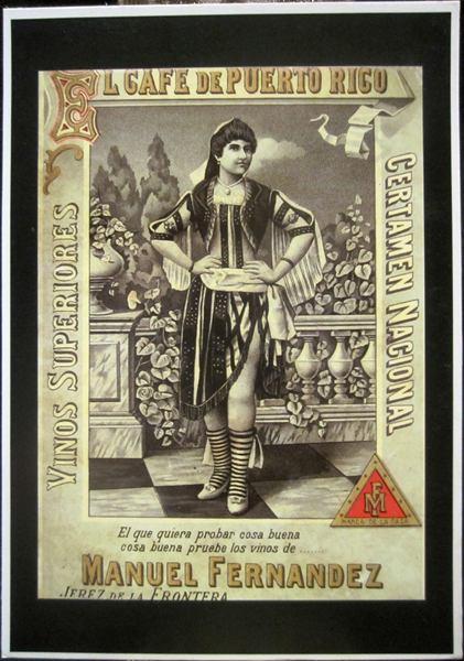 シェリー酒広告ポスターのポストカード14種 _f0112550_76592.jpg