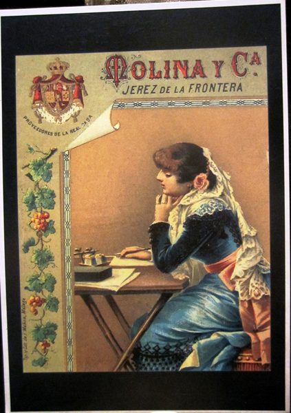 シェリー酒広告ポスターのポストカード14種 _f0112550_774433.jpg