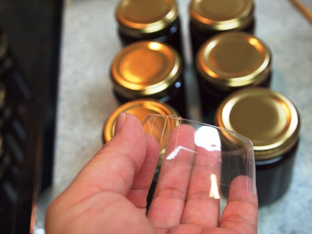 ジャム瓶の新兵器(っていうほどすごくはないけど・・・)_e0167593_23583494.jpg