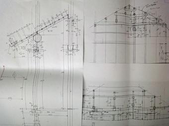 大正12年建築の民家の実測。_c0195909_938799.jpg