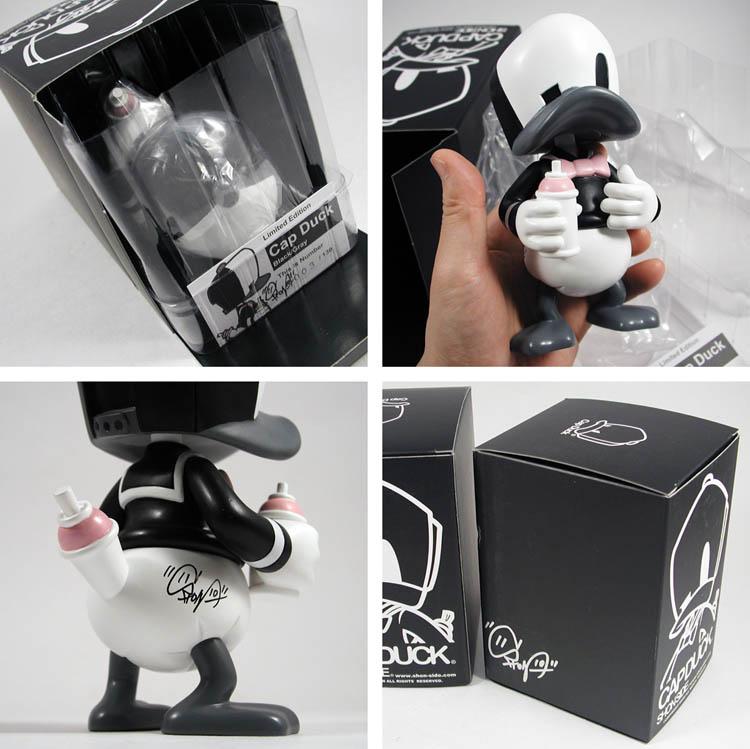Black / Gray Cap Duck_e0118156_16522826.jpg