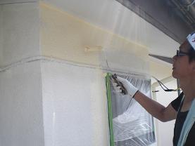 塗装工事は順調に進んでいます。_d0165368_721192.jpg