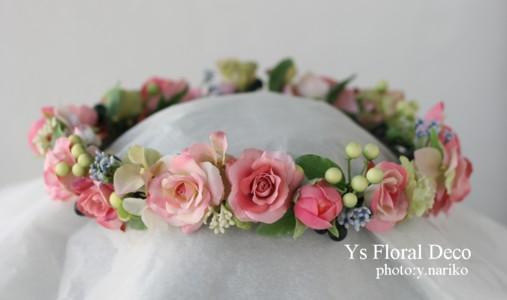 ピンクの花冠_b0113510_23581361.jpg