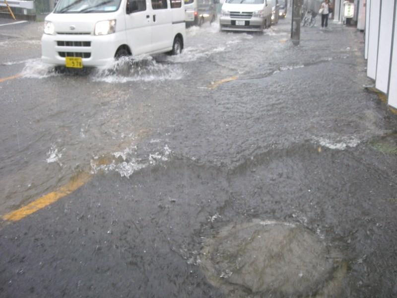 ゲリラ豪雨と透水性舗装_b0125025_13104269.jpg