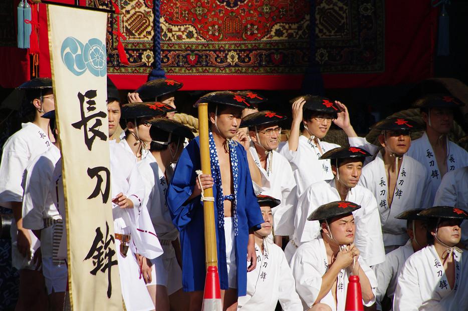 祇園祭 山鉾巡行 ~出発~_f0152550_2127163.jpg