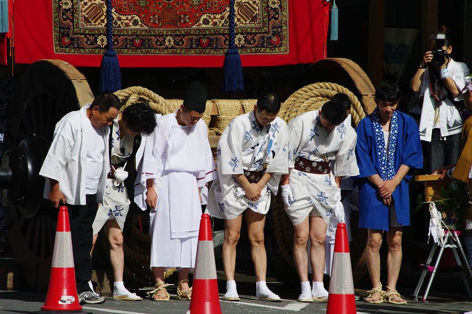 祇園祭 山鉾巡行 ~出発~_f0152550_21274036.jpg