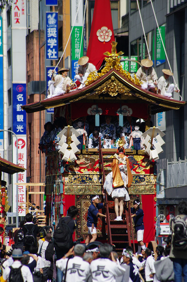 祇園祭 山鉾巡行 ~出発~_f0152550_2130915.jpg