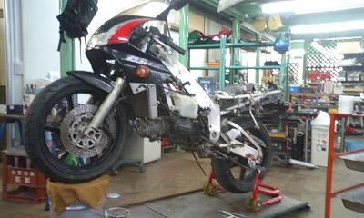 9 NSR250エンジンO/H_e0114857_0271962.jpg