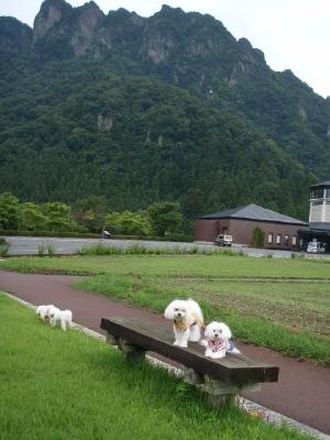 カリファミリー、マミちゃんのお山と軽井沢へ(^^)/_b0001465_13221192.jpg