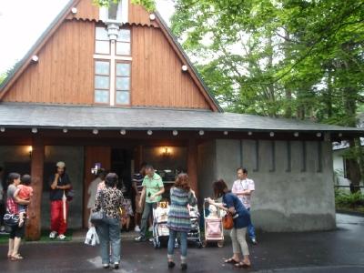 カリファミリー、マミちゃんのお山と軽井沢へ(^^)/_b0001465_141585.jpg