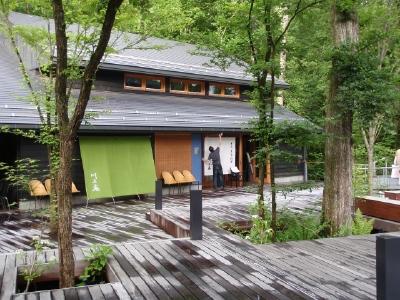 カリファミリー、マミちゃんのお山と軽井沢へ(^^)/_b0001465_1475594.jpg