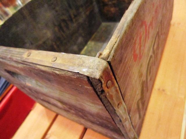 """Used \""""1960s WOOD BOX\""""_f0191324_0334234.jpg"""