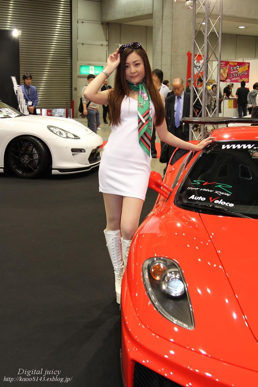 永澤やすよ さん(Auto Veloce ブース)_c0216181_20215997.jpg