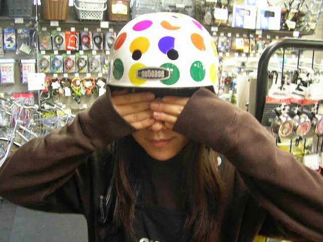 「ヘルメットいろいろ」コーナー新設!_b0189682_1232246.jpg