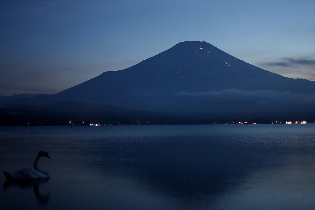 夕暮れ富士山_b0116600_21504011.jpg