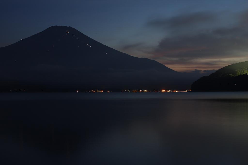 夕暮れ富士山_b0116600_21505288.jpg