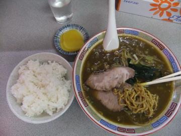 室蘭 味の大王 カレーラーメン ツー!!_c0226202_723178.jpg