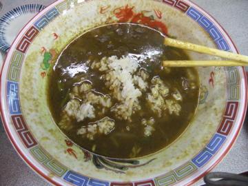 室蘭 味の大王 カレーラーメン ツー!!_c0226202_752022.jpg