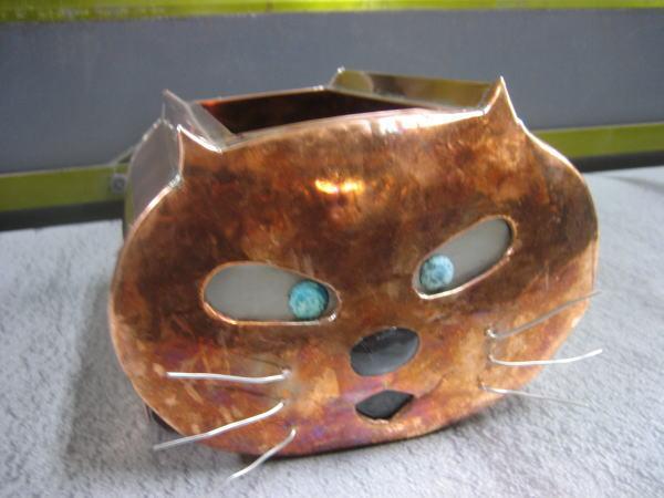 猫オブジェ(完成)_b0104403_1949314.jpg