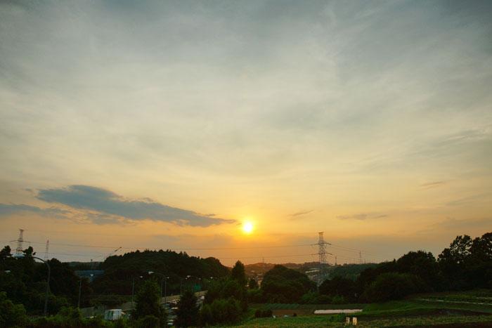 さらに猛暑 の夕_e0077521_23102249.jpg