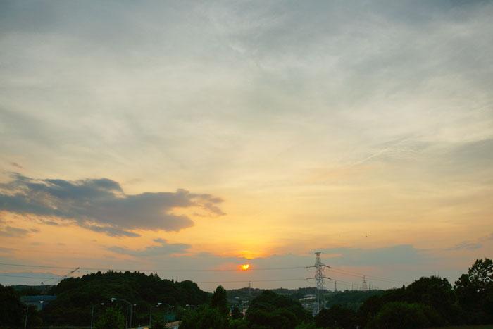 さらに猛暑 の夕_e0077521_23103965.jpg