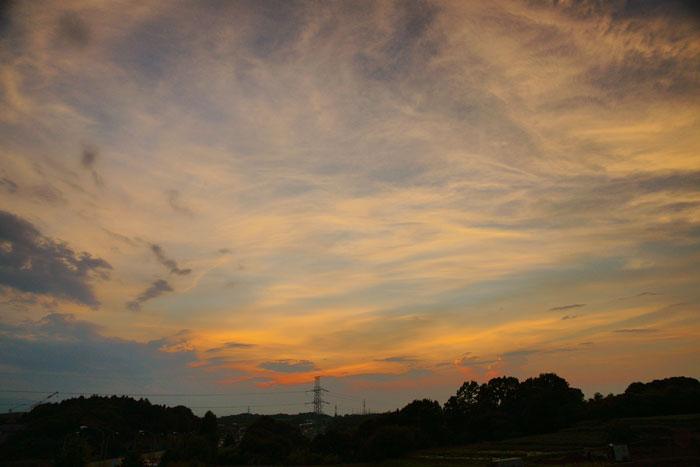 さらに猛暑 の夕_e0077521_23105556.jpg