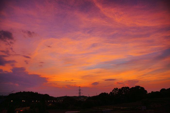 さらに猛暑 の夕_e0077521_23112971.jpg