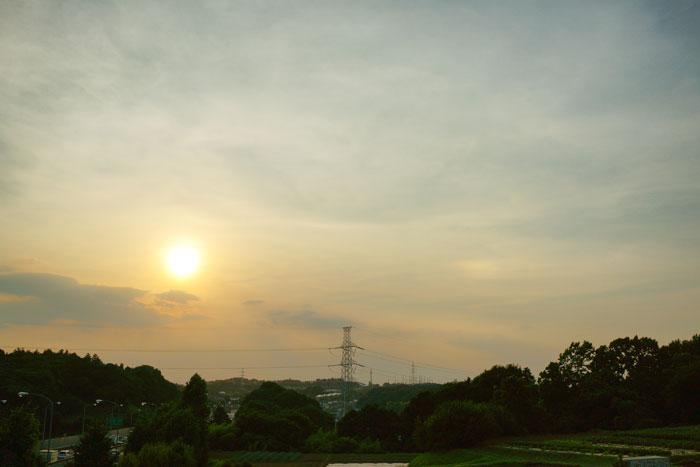 さらに猛暑 の夕_e0077521_239435.jpg