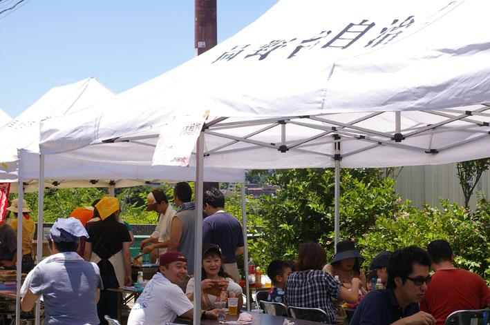 祭りはコミュニティを維持させる舞台装置:10高野台夏祭り_c0014967_19273855.jpg