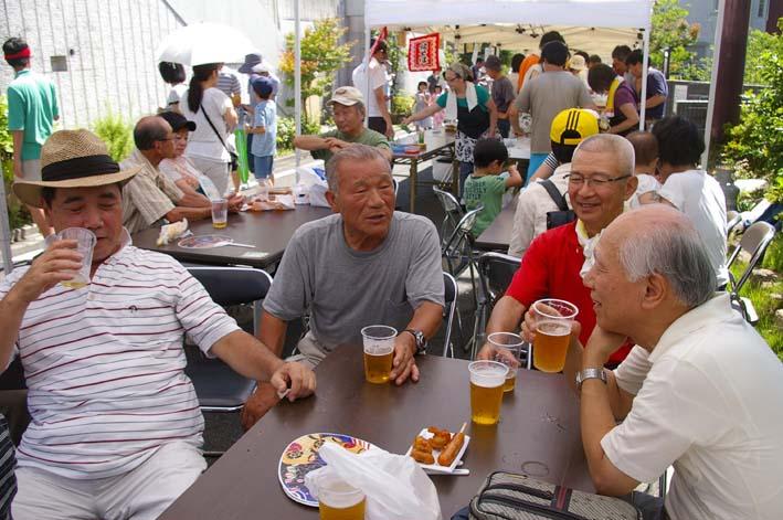 祭りはコミュニティを維持させる舞台装置:10高野台夏祭り_c0014967_1928756.jpg
