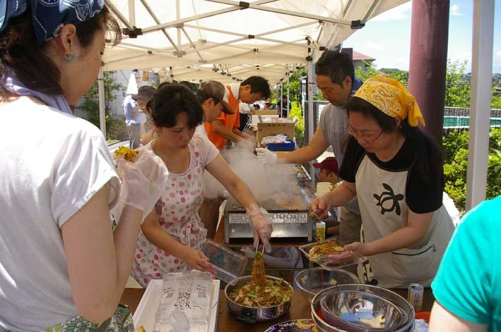 祭りはコミュニティを維持させる舞台装置:10高野台夏祭り_c0014967_19324698.jpg