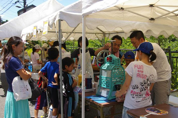 祭りはコミュニティを維持させる舞台装置:10高野台夏祭り_c0014967_19344445.jpg