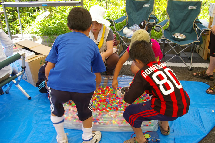 祭りはコミュニティを維持させる舞台装置:10高野台夏祭り_c0014967_1935321.jpg