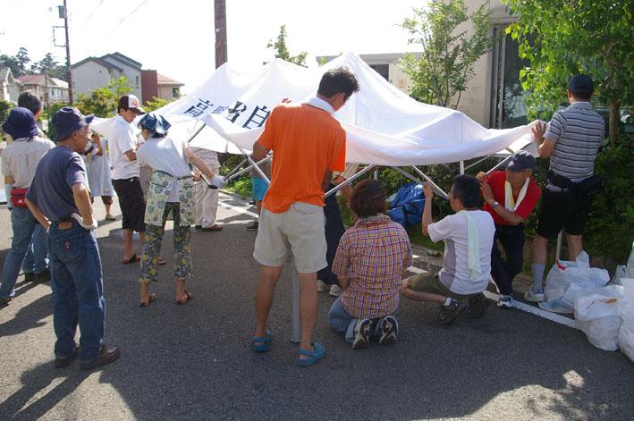 祭りはコミュニティを維持させる舞台装置:10高野台夏祭り_c0014967_19375379.jpg