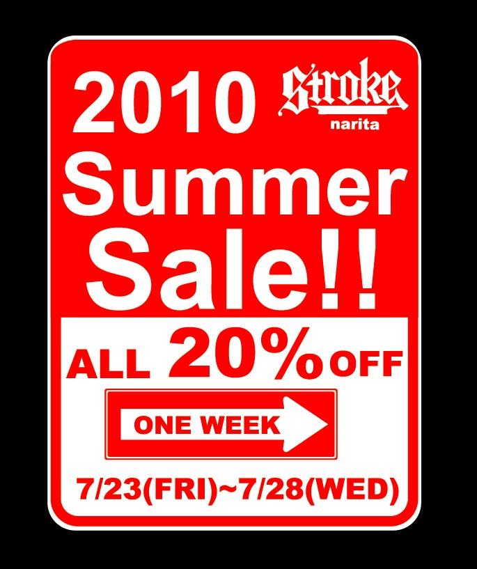 STROKE SUMMER SALE!!_d0101000_21212299.jpg