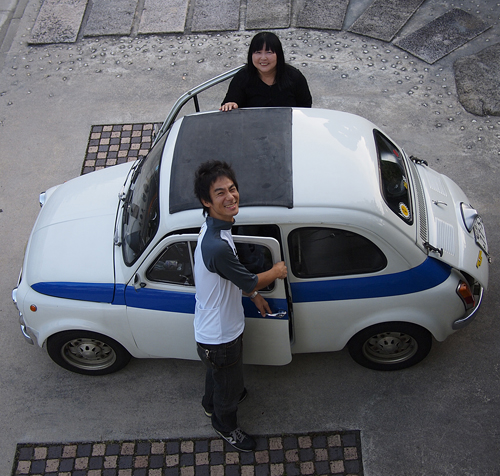 FIAT 500 cinquecento(チンクエチェント)_f0099102_2364560.jpg