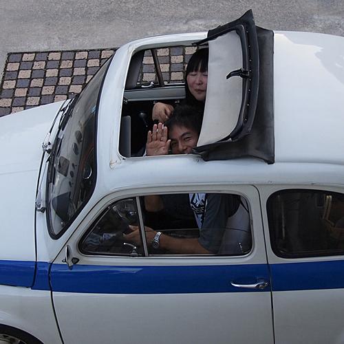 FIAT 500 cinquecento(チンクエチェント)_f0099102_2371453.jpg