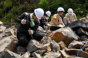 日本最大の恐竜産出現場で発掘調査始まる!_f0229508_14212535.jpg