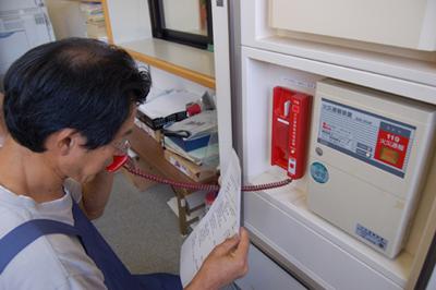 消防総合訓練を実施_a0154110_145129.jpg