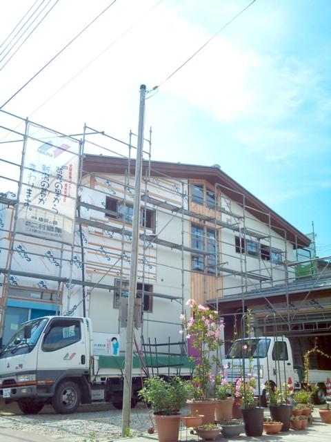 燕の家 外壁工事_c0170940_194410100.jpg