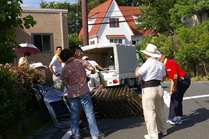 祭りはコミュニティを維持させる舞台装置:10高野台夏祭り_c0014967_16481129.jpg