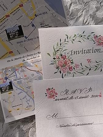 フランスでの結婚式の招待状♪_b0105897_2194778.jpg