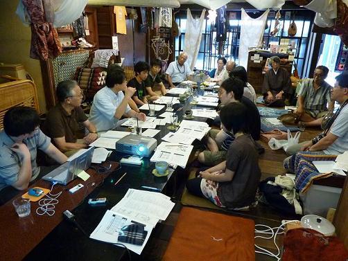 《談話室76》それぞれの彦根物語2010.7.17_d0087325_14232168.jpg