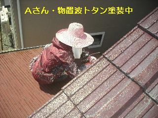 セメント瓦塗装工事_f0031037_2192234.jpg