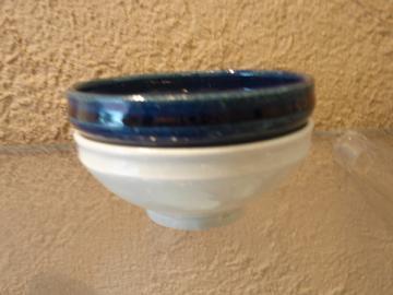 臼田けい子さんの瑠璃、紺 、白のうつわたち_b0132442_17214740.jpg